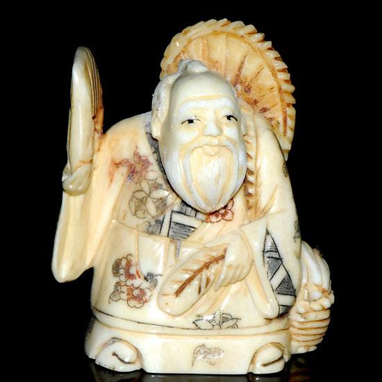 Hand Craft Carved Ox Bone Netsuke Carving Man Figurine Aca0084 14 99 Netsuke Akoya Pearl Erotic Netsuke Wood Netsuke Packaging Supplies Shipping And Retun Shopping Online At Look Sea