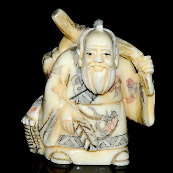 Hand Craft Carved Ox Bone Netsuke Carving Man Figurine Aca0090 14 99 Netsuke Akoya Pearl Erotic Netsuke Wood Netsuke Packaging Supplies Shipping And Retun Shopping Online At Look Sea