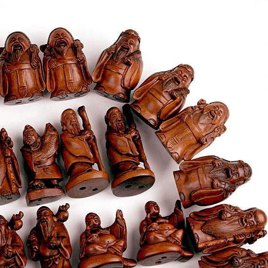Wholesale wood boxwood netsuke carving human figurine ebay